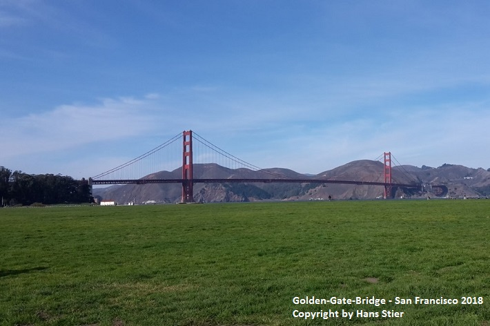 Golden-Gate-Bridge in San Francisco